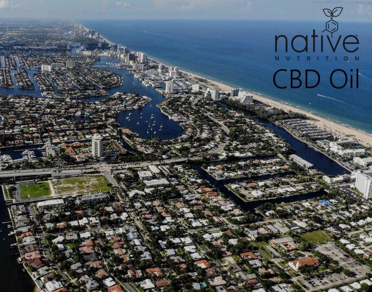 CBD oil Fort Lauderdale - native Nutrition