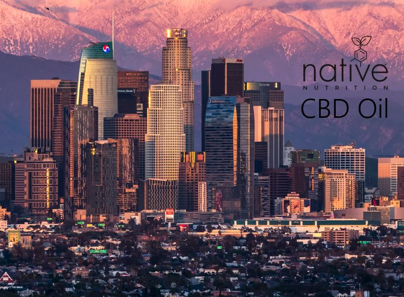 CBD oil Los Angeles - Native Nutrition